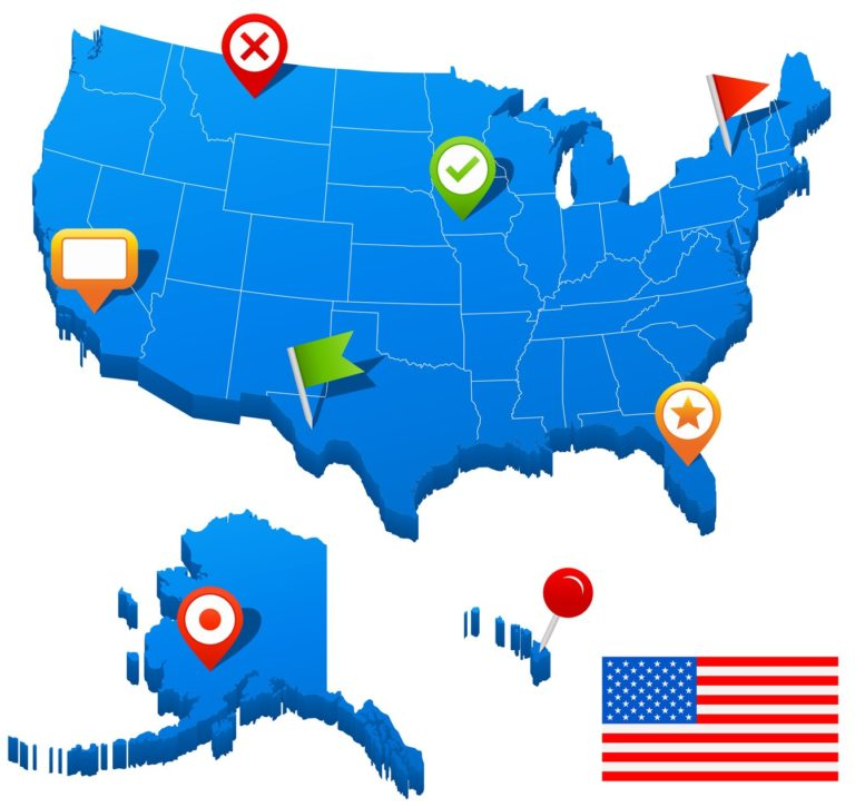 アメリカ全州で調査を可能としています。